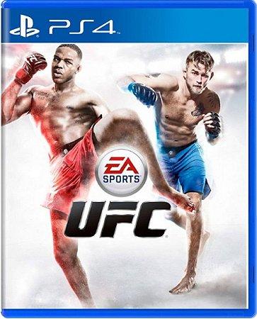 Jogo UFC - PS4 Mídia Física Usado