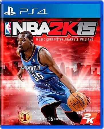 Jogo NBA 2k15 - PS4 Mídia Física Usado