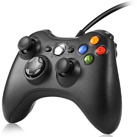 Controle Xbox 360 com fio Wired Controller