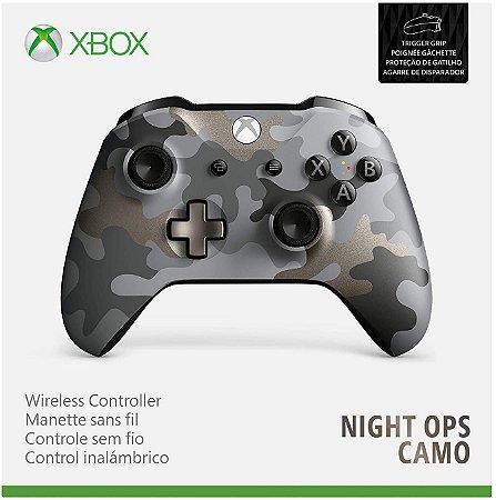 Controle Original Microsoft Night Ops Camo  - Xbox One