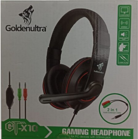 Headset Goldenultra GT-X10 - PC