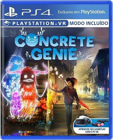Jogo Concrete Genie - Ps4 Midia Física