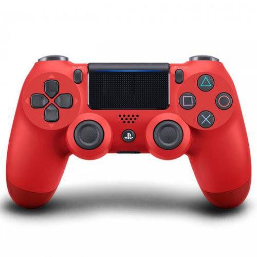 Controle Joystick Sony Dualshock 4 Vermelho Usado
