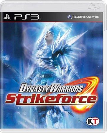 Jogo Dynasty Warriors Strikeforce - Ps3 Mídia Física Usado