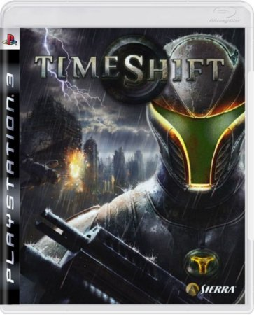 Jogo Time Shift - Ps3 Mídia Física Usado
