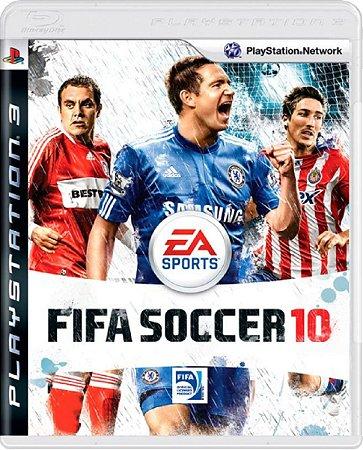 Jogo Fifa Soccer 10 - Ps3 Mídia Física Usado