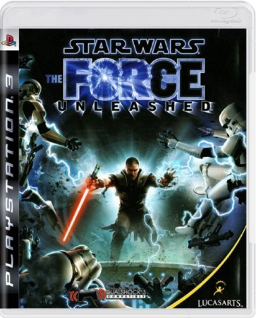 Jogo Star Wars The Force Unleashed - Ps3 Usado