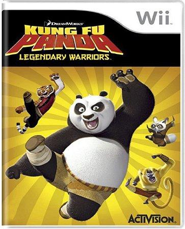 Jogo Kung Fu Panda Legendary Warriors - Nintendo Wii Usado
