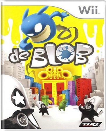 Jogo De Blob - Nintendo Wii Física Usado