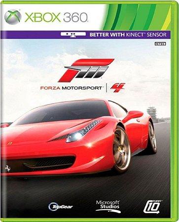 Jogo Forza Motorsport 4 - Xbox 360 Mídia Física Usado