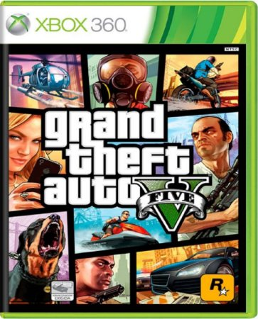 Jogo GTA V - Xbox 360 Mídia Física Usado