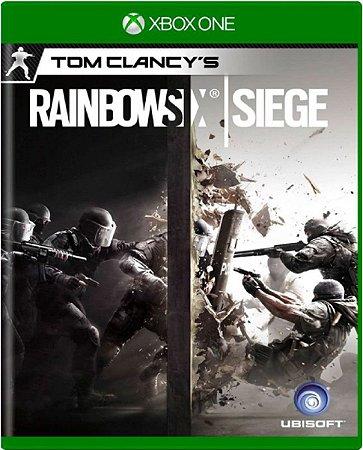 Jogo Rainbow Six Siege - Xbox One Mídia Física Usado