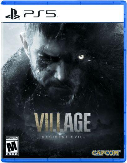 Jogo Resident Evil Village - PS5 Mídia Física