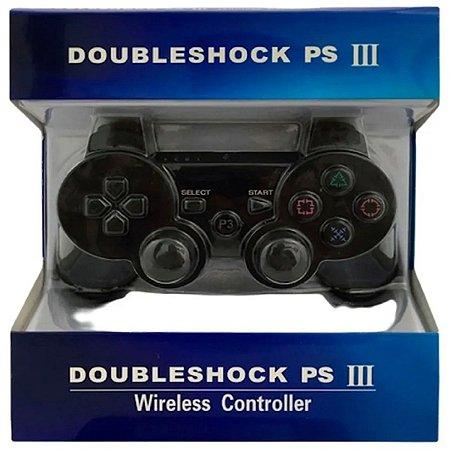 Controle Paralelo PS3 Preto