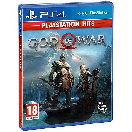 Jogo God of War Playstation Hits - Ps4 Mídia Física