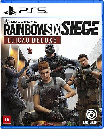 Jogo Rainbow Six Siege Edição Deluxe - PS5 Mídia Física