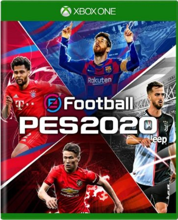 Jogo eFootball PES 2020 - Xbox One Mídia Física Usado