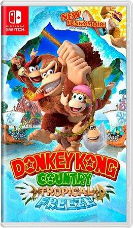 Jogo Donkey Kong C. Tropical Freezee - Nintendo Switch Usado