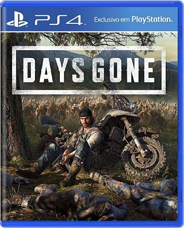 Jogo Days Gone - PS4 Mídia Física Usado