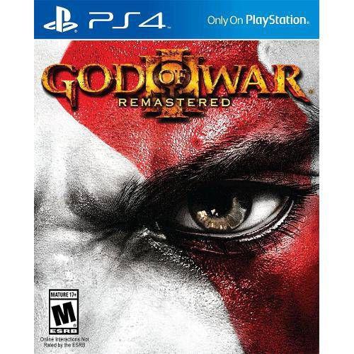 Jogo God of War 3 Remasterizado - Ps4 Encartelado Usado