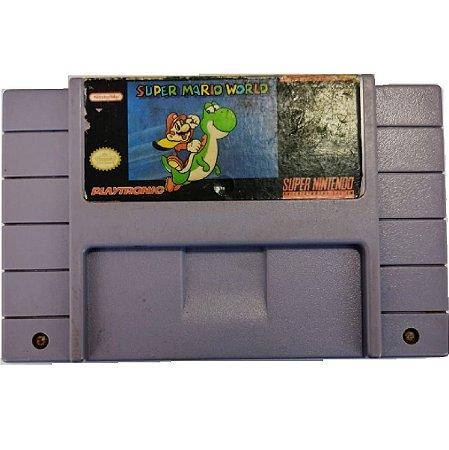 Fita Super Mario World Original Playtronic - SNES Usado