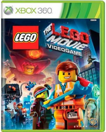 Jogo Lego Movie The Video Game - Xbox 360 Mídia Física Usado