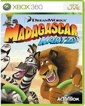 Jogo Madagascar Kartz - Xbox 360 Mídia Física Usado