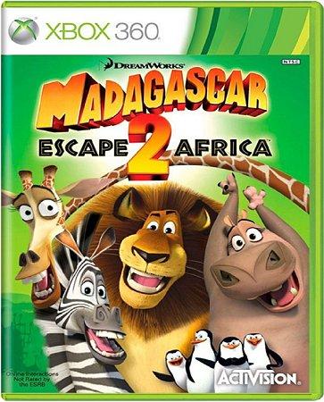 Jogo Madagascar 2 The Escape Africa - Xbox 360 Mídia Física Usado