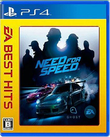 Jogo Need For Speed (Edição Cero) - Ps4 Mídia Física Usado