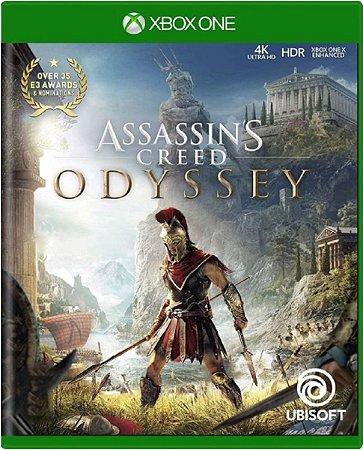 Jogo Assassin's Creed Odyssey - Xbox One Mídia Física Usado
