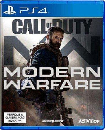 Jogo Call of Duty Modern Warfare - PS4 Mídia Física Usado