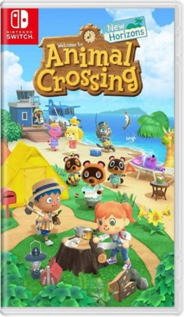 Jogo Animal Crossing New Horizon - Nintendo Switch Usado