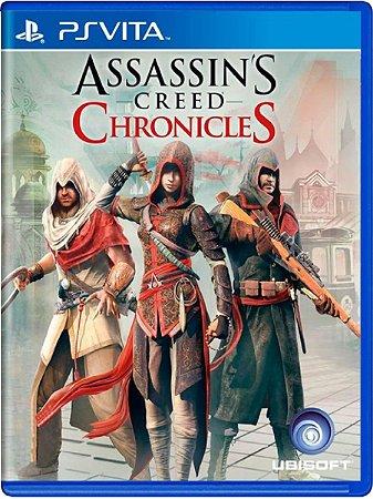 Jogo Assassin's Creed Chronicles - PS Vita Usado