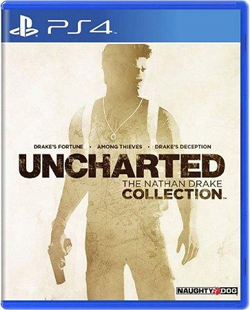 Jogo Uncharted The Nathan Drake - Ps4 Mídia Física Usado