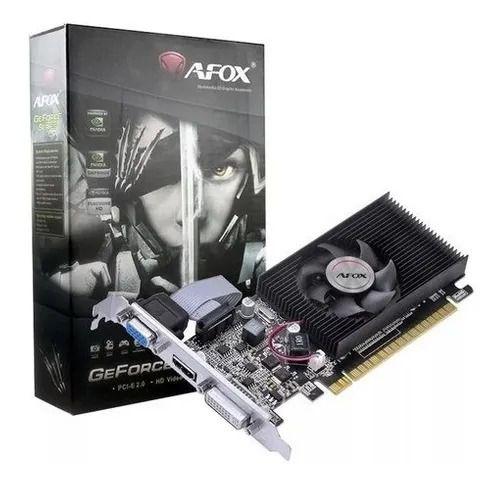 Placa de Vídeo AFOX G210 Geforce 1GB DDR3 128 bits HDMI DVI VGA
