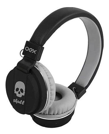 Fone Headset Skull Hp101 Com Microfone Oex