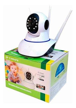 Camera Ip Wifi Robozinho Baba Eletronica Com Audio Hd 1.3mp - Jortan