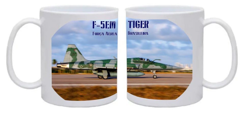 Caneca F-5Em Tiger