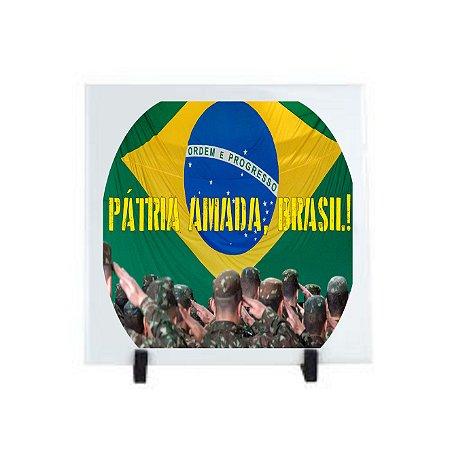 Azulejo Pátria Amada Brasil