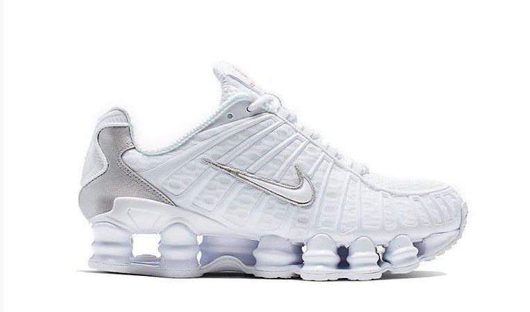 Nike TL 12 molas Branco e cinza