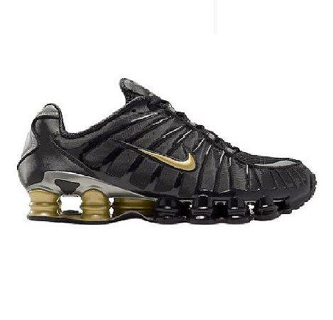 Nike TL 12 molas Preto e dourado