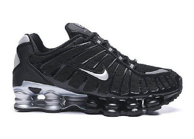 Nike TL 12 molas Preto e Prata