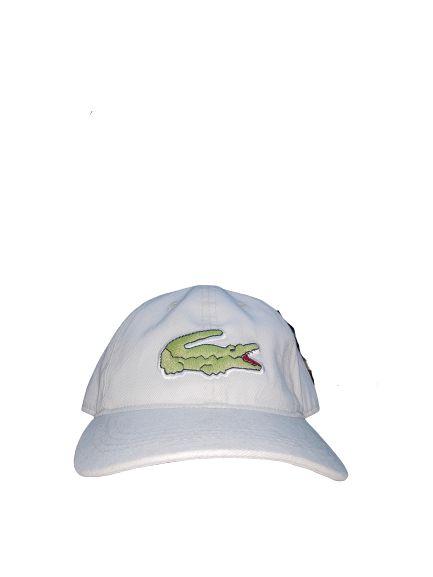 Boné Lacoste Big Croc Creme