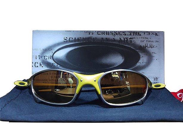 Óculos Juliet 24k Lente dourada