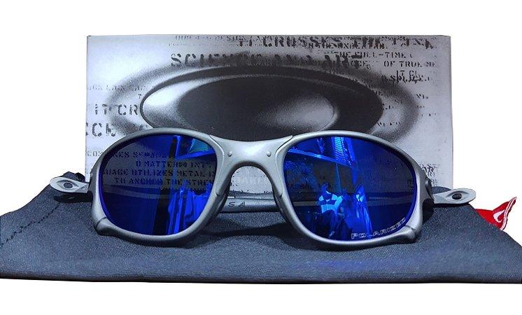 Óculos Juliet 24k Lente azul
