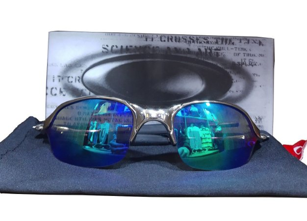 Óculos Oakley Romeo 2 lente azul