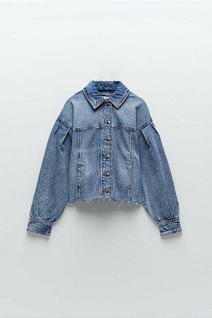 Jaqueta jeans oversize
