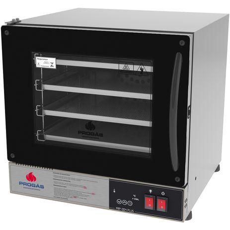 Forno Turbo Elétrico Fast Oven Multiuso PROGÁS PRP-004 PLUS Preto