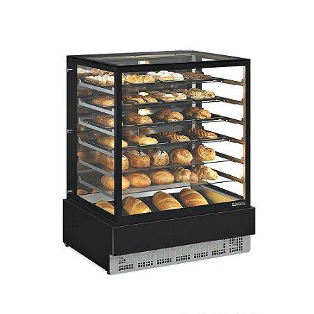 Vitrine Neutra Conveniência Gourmet 1,00m GELOPAR MGEN-100