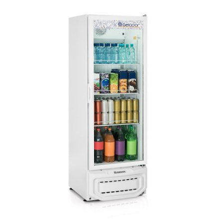 Refrigerador Vertical de Bebidas 410L GELOPAR GPTU-40 BR